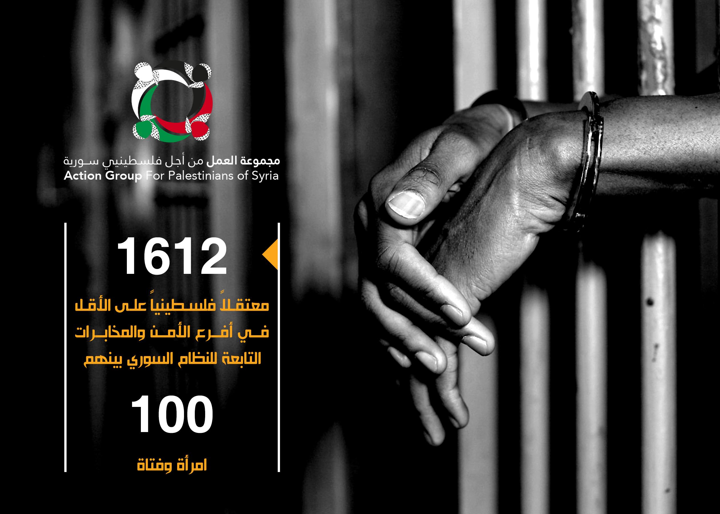 صورة بينهم 100 إمرأة..1612 فلسطيني يعتقلهم الأسد
