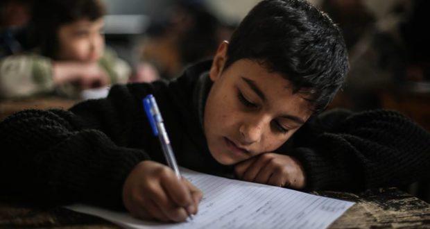 """صورة دعما """"التعليم""""..حملة """"سأعود لمدرستي"""" تنطلق بريف حمص"""