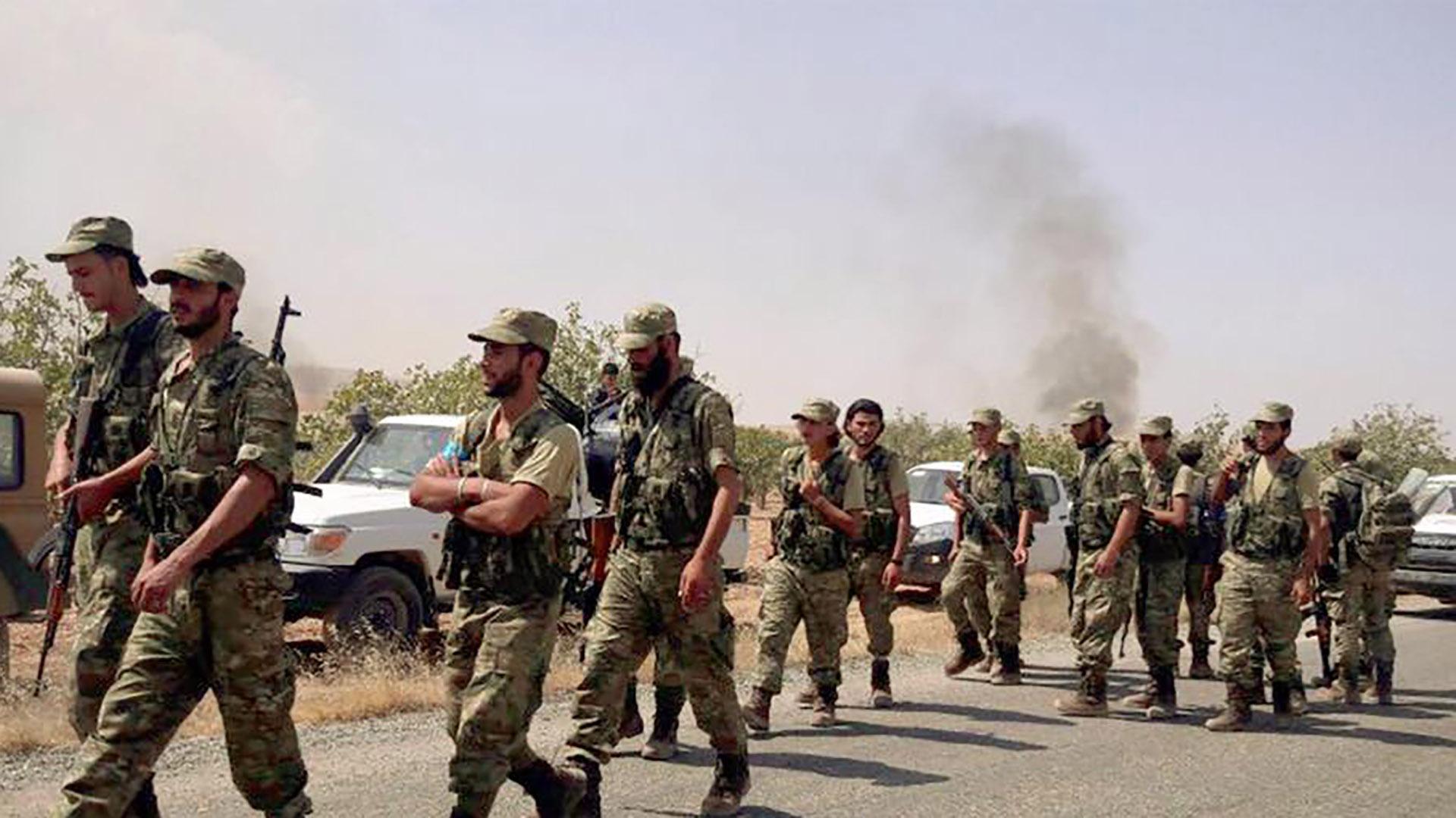 صورة درع الفرات يتصدى للأسد والأكراد