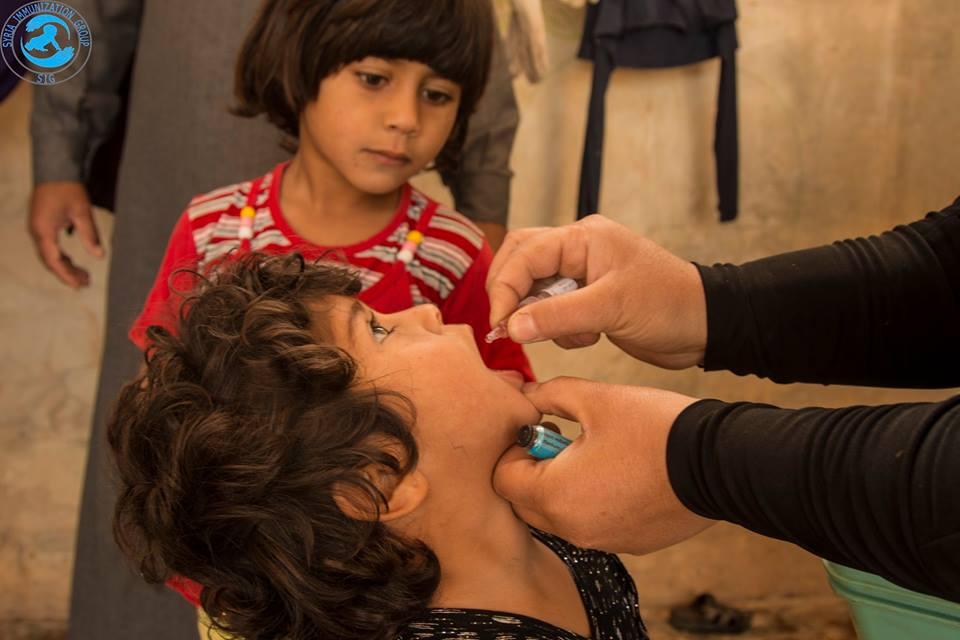 صورة شلل الأطفال ينتشر شرق سوريا ومساعي لتطويقه