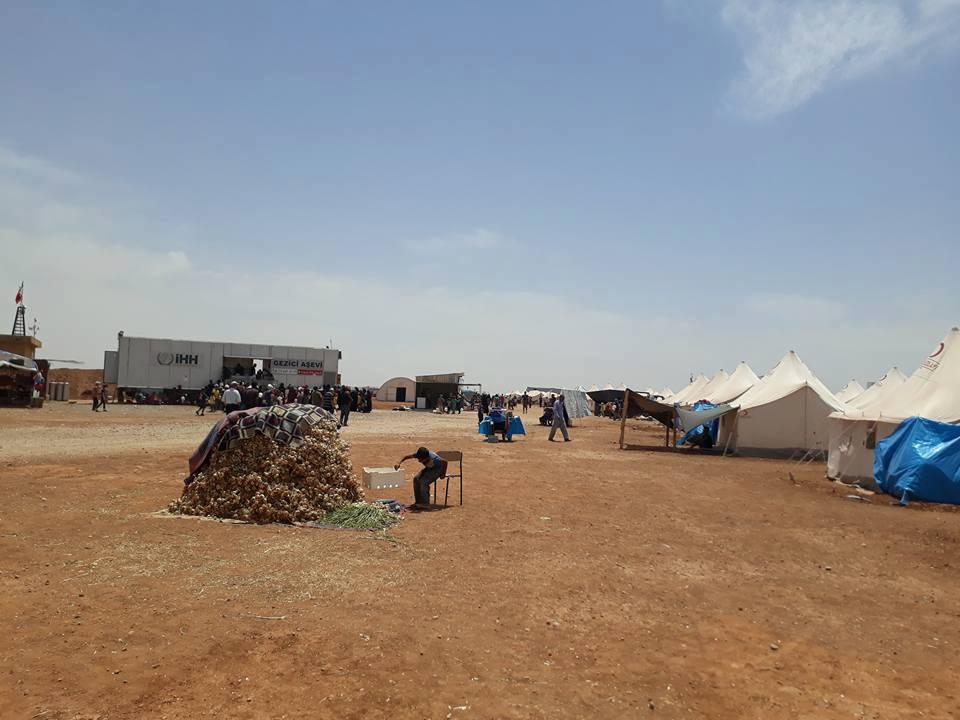 صورة مخيم زوغرة..وحياة الجحيم