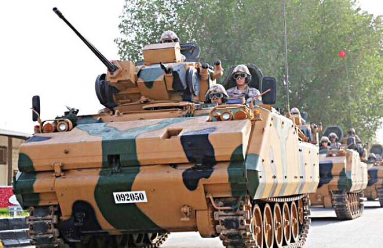 صورة القوات التركية تصل الدوحة..وبوادر توتر بين أنقرة والرياض