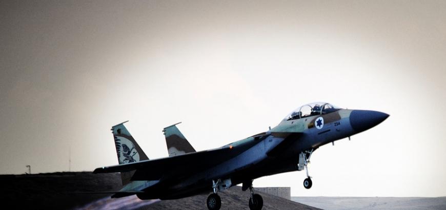 صورة هجمات إسرائيلية جديدة على مواقع للأسد
