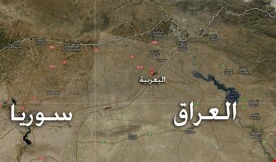 صورة الحدود السورية العراقية..قاعدة ثانية للتحالف