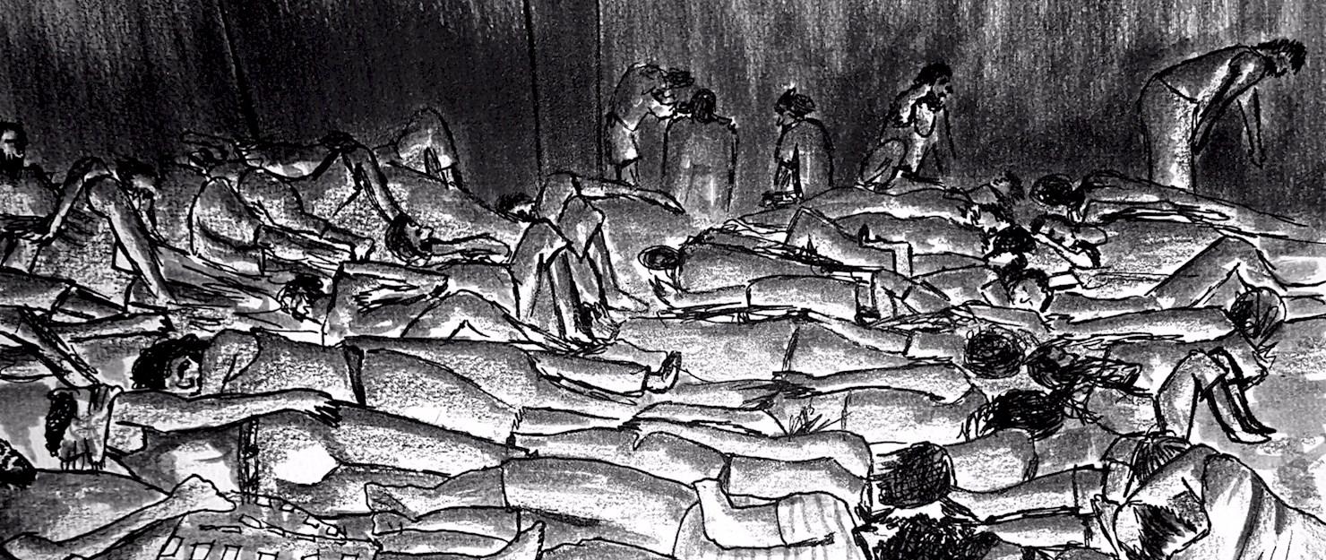 صورة بينهم طلاب..الأسد يعذب 14 مدني حتى الموت