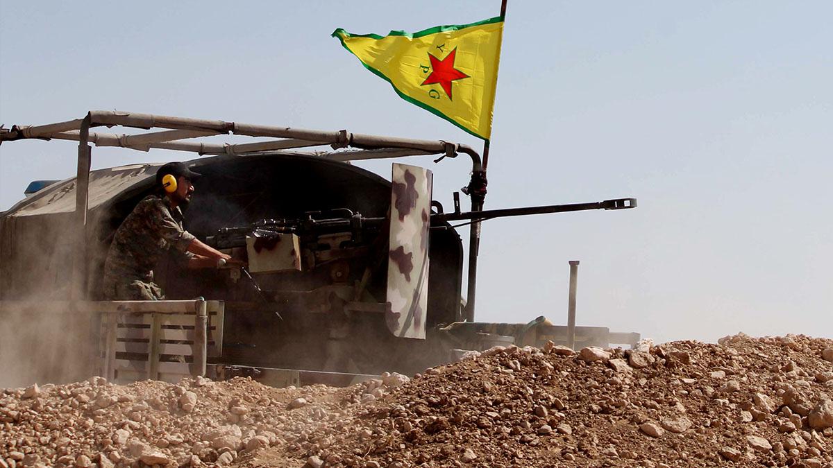"""صورة تقدم لـ """"الأكراد"""" على حساب التنظيم بالرقة"""