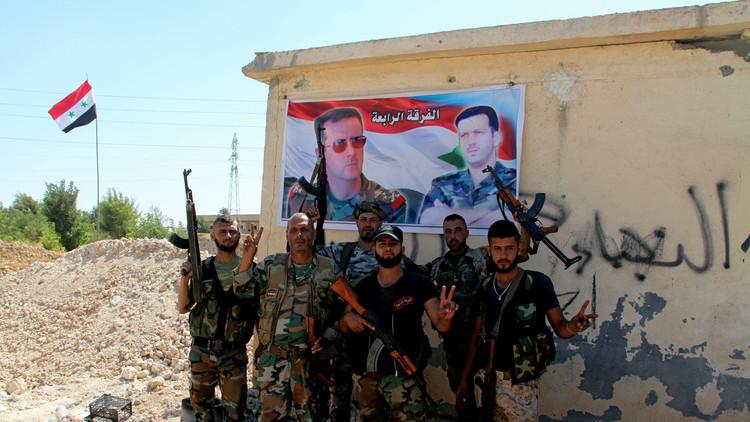 """صورة الأسد يرسل قوات """"ضخمة"""" للحدود الأردنية"""