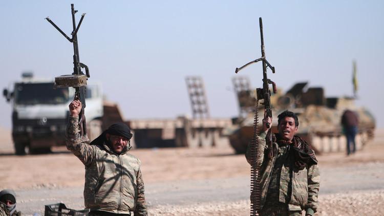 """صورة """"قسد"""" تدخل عمق الرقة والتنظيم محاصر"""