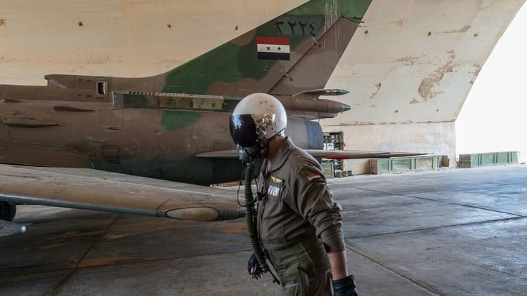 """صورة موسكو تنفي رواية النظام وتؤكد..الطيار """"مفقود"""""""