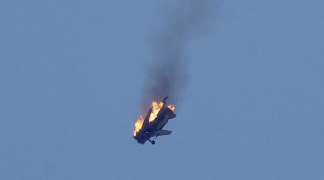 صورة الطيار مفقود..إسقاط طائرة للأسد بالرقة