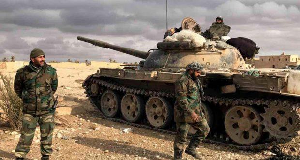 صورة الأسد يستخدم الأسلحة المحرمة بمعارك ريف دمشق