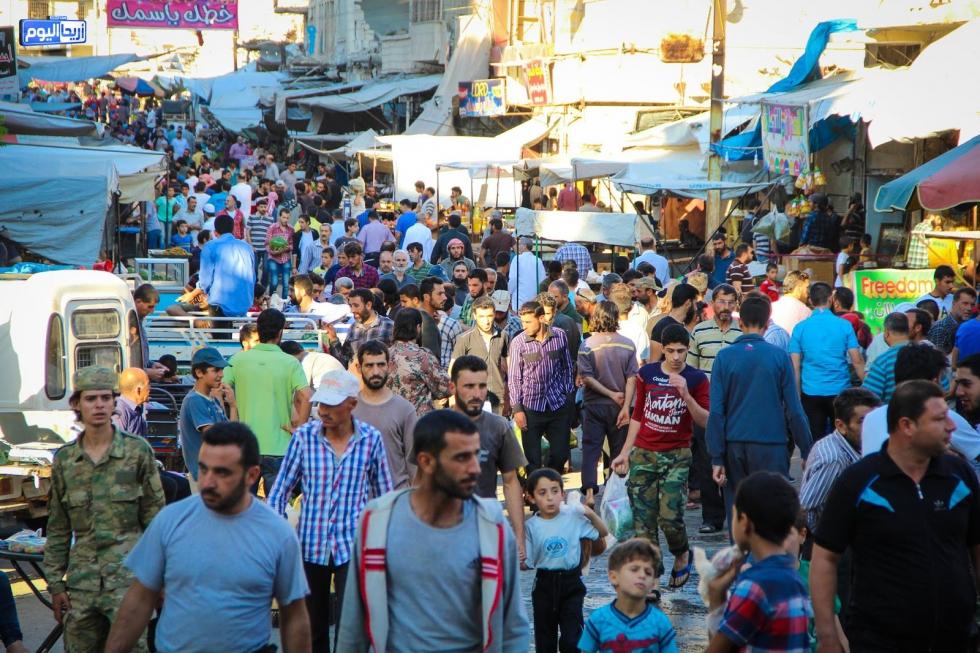 صورة تأهيل البنى التحتية في إدلب وافتتاح نقطة طبية بحلب