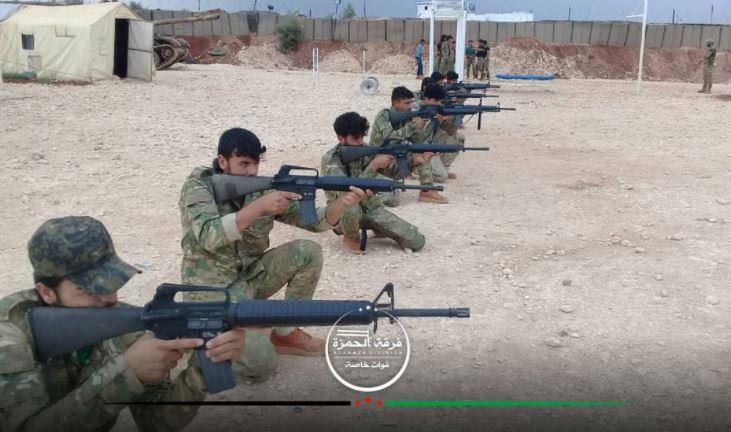 """صورة معارك دموية بين فصيلين لـ """"الحر"""" بريف حلب"""