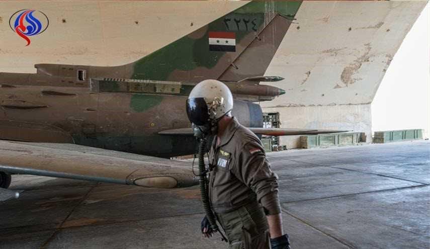 صورة نظام الأسد يعثر على طياره المفقود