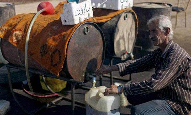 صورة مجلس طفس العسكري يتابع توفير حاجيات المدنيين
