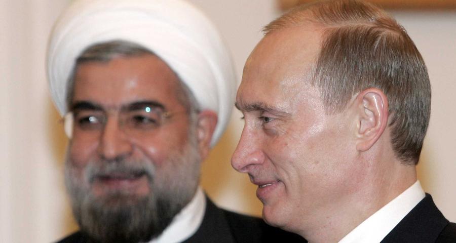 """صورة روسيا وإيران: واشنطن تحمي """"الإرهاب"""" بسوريا"""