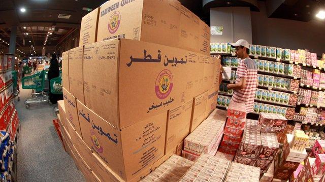 صورة خلال 5 أيام..ألف طن من المنتجات الغذائية التركية تصل الدوحة