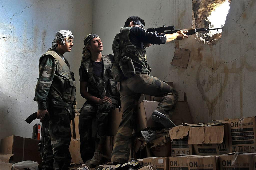 صورة معركة ضخمة تستهدف أحد أبرز مواقع الأسد