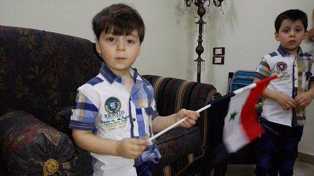 """صورة هل قال والد الطفل """"عمران """"الحقيقة؟"""