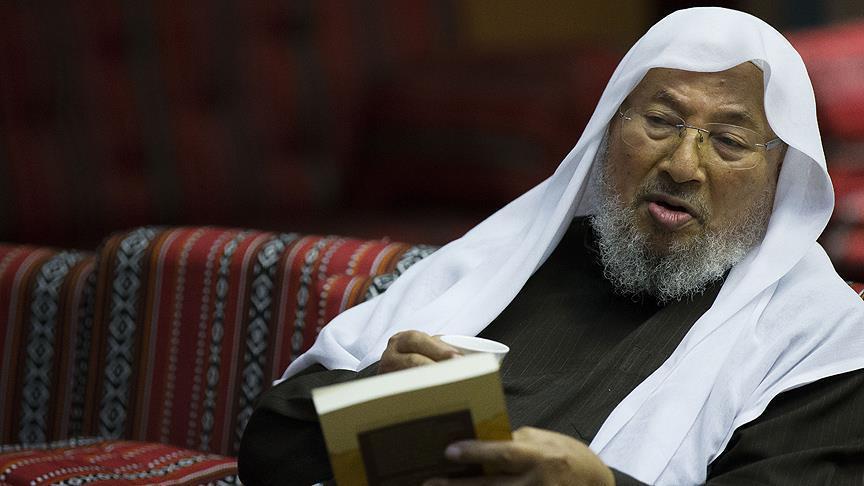"""صورة السعودية تسحب كتب القرضاوي """"بشكل عاجل"""""""