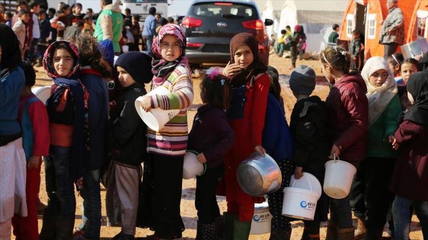 صورة اللاجئون السوريون..الأول عالمياً