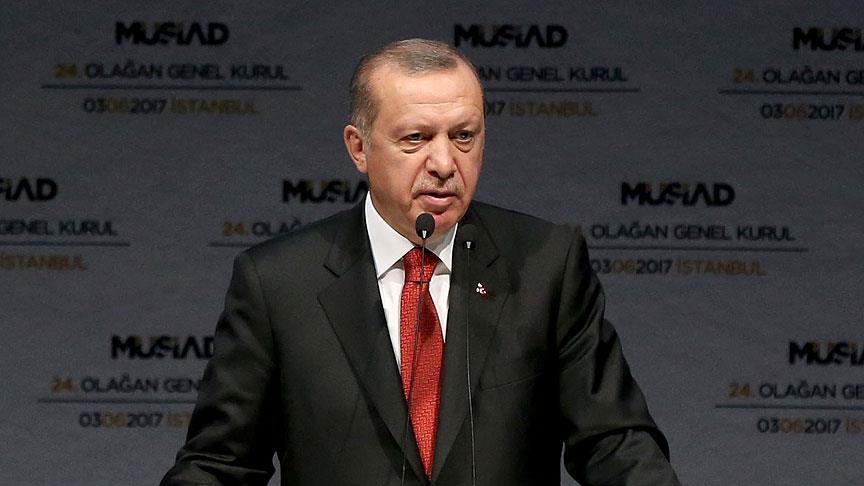 صورة أردوغان: سنواجه أي تهديد من شمال سوريا