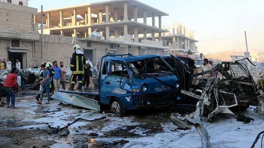 صورة مفخخة تودي بحياة 10 مدنيين بريف إدلب