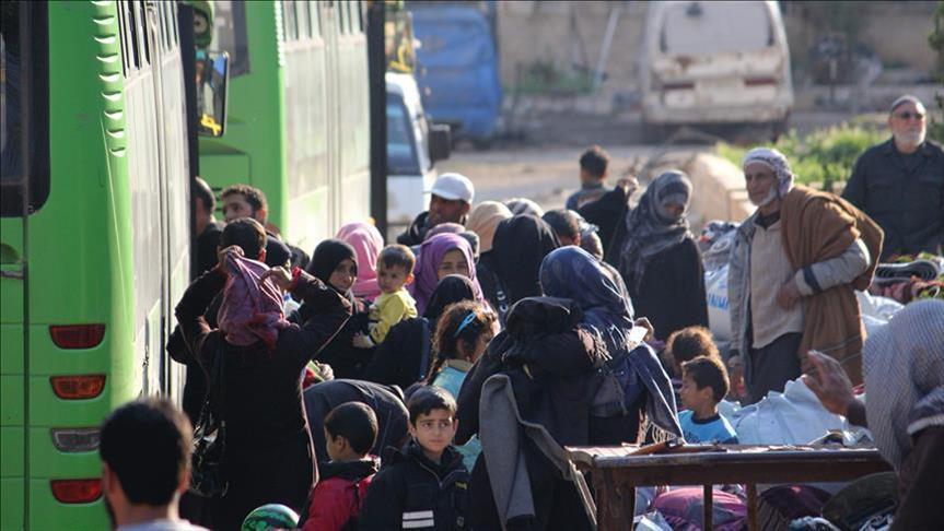 صورة معارض: الأسد يهدف لإحداث تغيير ديموغرافي بحمص وحماة