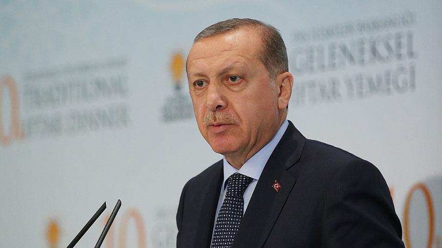 صورة أردوغان: أطراف دولية تبرء الإرهابيين بسوريا بدل محاربتهم