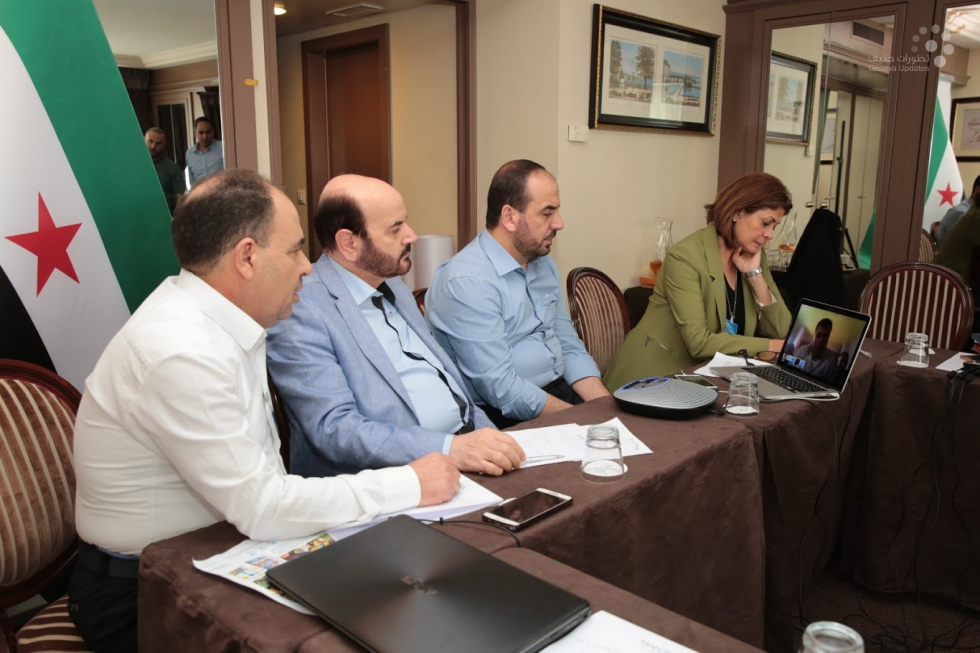 صورة الهيئة العليا: الأسد إلى زوال