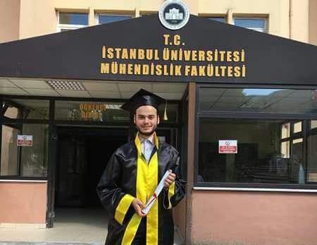 صورة سوري يحرز المركز الأول في جامعة إسطنبول