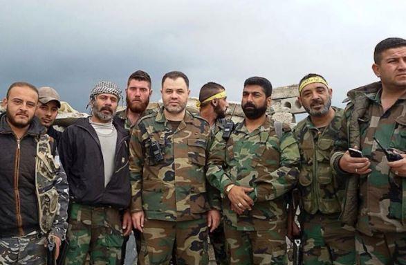صورة نصف جيش التحرير الفلسطيني يٍساند الأسد