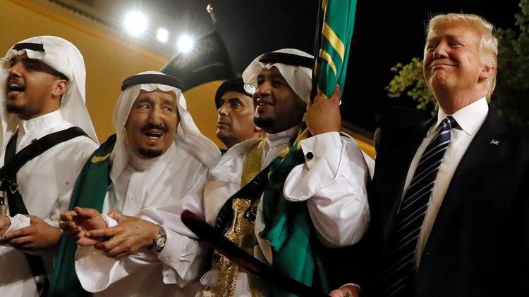 صورة ترامب: السعودية دفعت مليارات الدولارات لأشارك بقمة الرياض