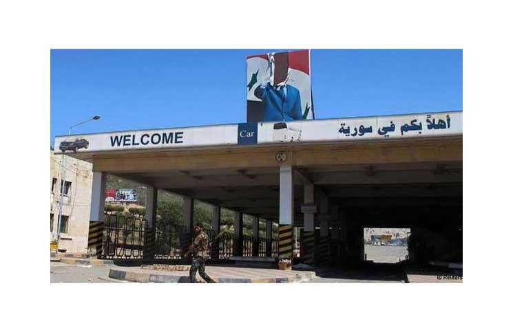 صورة إعادة تشغيل معبر نصيب مع الأردن بشروط رفع علم الأسد وحماية المعارضة