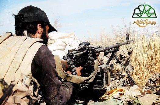 صورة جيش الإسلام: هذه خسائر الأسد خلال شهر