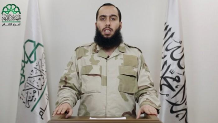 صورة قائد أحرار الشام يحذر من موصل جديدة