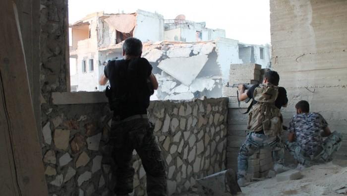 صورة نظام الأسد يخرق هدنة الغوطة