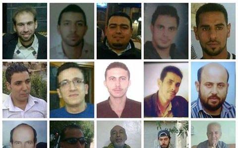 صورة 1621 لاجئ فلسطينيي بسجون الأسد و300 مفقود