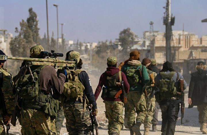 صورة عملية أمنية بإدلب..اعتقال 100 من تنظيم الدولة