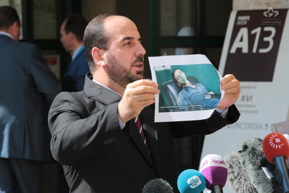 صورة الحريري: لا دور للأسد في المرحلة الانتقالية