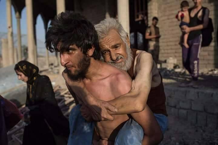 صورة تضاعف قتل العراقيين والسوريين بعهد ترمب