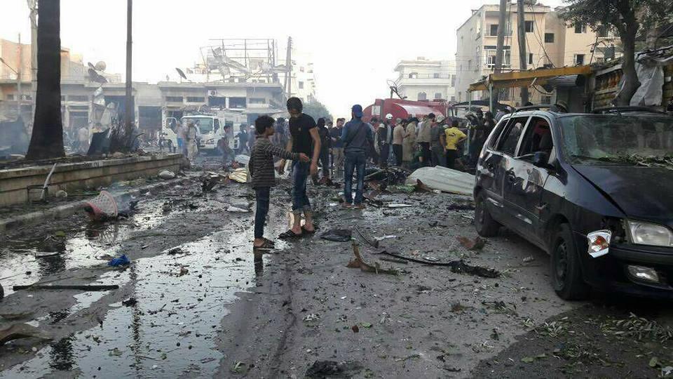 صورة مفخخة تودي بـ 15 من تحرير الشام