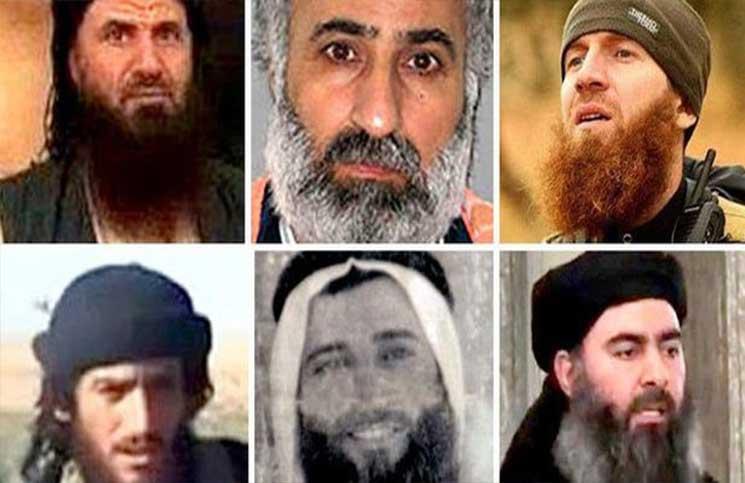 """صورة تيار ضمن تنظيم الدولة """"يكفّر البغدادي"""""""