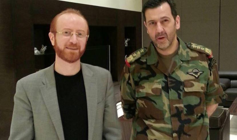 """صورة """"النمس"""" يعلن ترفيع """"ماهر الأسد"""""""