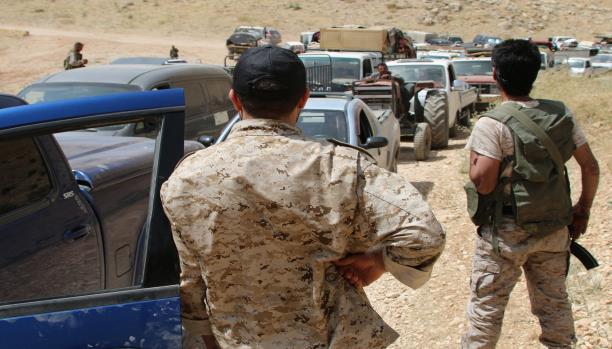 صورة الأمن اللبناني يدير مفاوضات حزب الله وفتح الشام