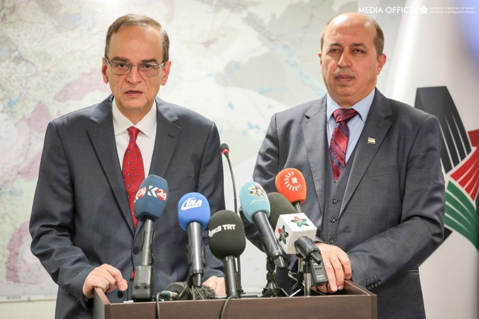 صورة الائتلاف مستعد لمفاوضة النظام مباشرة