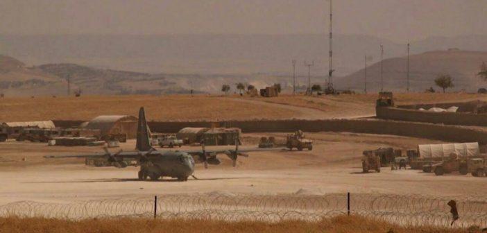 صورة قاعدة جوية أمريكية جديدة بسوريا (صور)