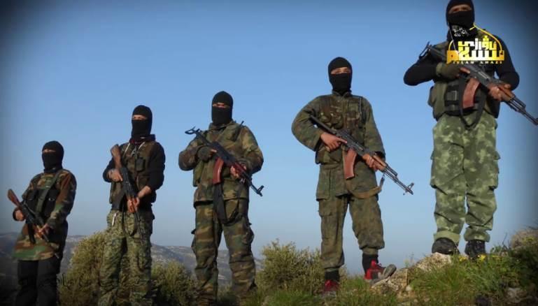 صورة التركستان يسيطرون على جسر الشغور