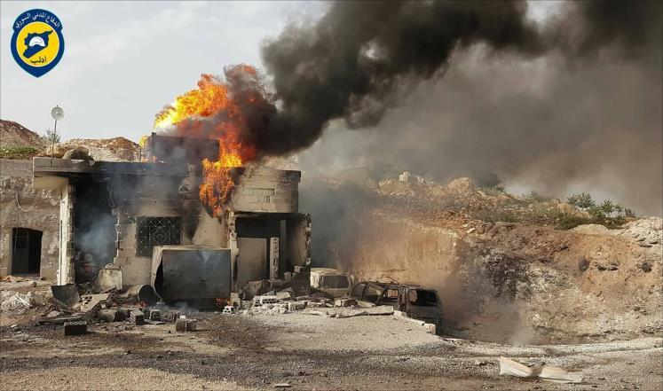 """صورة منظمات: تدمير المرافق الطبية بإدلب """"ممنهج"""""""