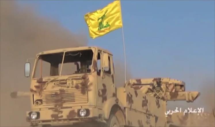 صورة حزب الله يهاجم عرسال دون الجيش اللبناني